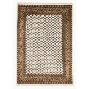Esposa Orientteppich 70/140 cm braun, creme , Sakki Mir , Textil , Bordüre , 70x140 cm , für Fußbodenheizung geeignet, in verschiedenen Größen erhältlich , 007946085653