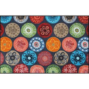Esposa Fußmatte 115/175 cm graphik multicolor , Coralis 061205 , Textil , 115x175 cm , rutschfest, für Fußbodenheizung geeignet , 004336018160