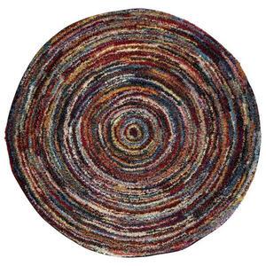 Novel WEBTEPPICH Multicolor , Sixteen Round , Textil , Abstraktes , Frisée, Heatset , in verschiedenen Größen erhältlich , 007946107070