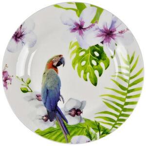 Landscape New bone china dessertteller rund , Ipanema , Multicolor , Keramik , Animalprint , glänzend , 007136040803