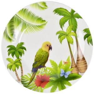 Landscape New bone china dessertteller rund , Ipanema , Multicolor , Keramik , Animalprint , glänzend , 007136040801