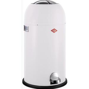 Wesco Abfallsammler kickmaster cl soft 33 l , 184631-74 , Weiß , Metall, Kunststoff , 69 cm , pulverbeschichtet , 003578002210
