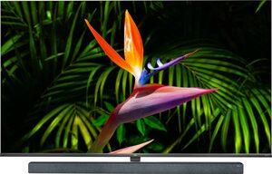 TCL 65X10 QLED-Fernseher (164 cm/65 Zoll, 4K Ultra HD, Smart-TV, Android 9.0 Betriebssystem, AndroidTV Sprachfernbedienung)