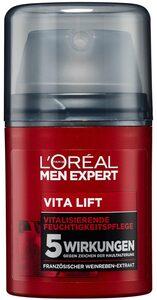 L'ORÉAL PARIS MEN EXPERT Anti-Aging-Creme »Vita Lift Gesichtspflege«, hochdosierte Anti-Aging Wirkung gegen Falten & Augenringe