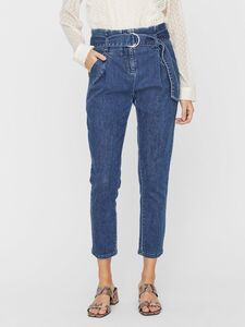 CROPPED PAPERBAG LOOSE FIT JEANS