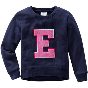 Mädchen Sweatshirt mit Frottee-Applikation