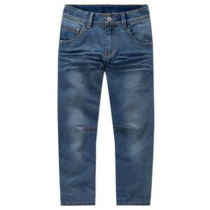 Jungen Slim-Jeans mit Used-Waschung