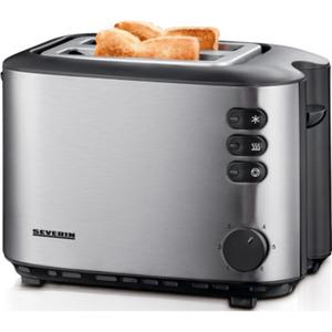 Severin AT 2514 Toaster Edelstahl