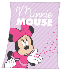 Disney's Minnie Mouse Fleece-Decke