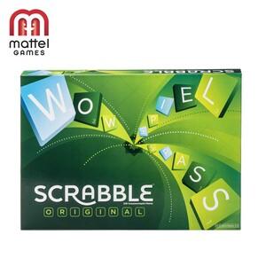 Scrabble Original Kreuzwortspiel, für 2 - 10 Spieler, ab 10 Jahren