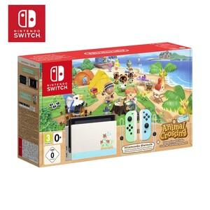 Nintendo Switch inkl. Spiel ANIMAL CROSSING NEW HORIZON DLC
