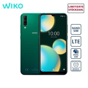 Smartphone View4 Lite · Dreifach Hauptkamera mit Superweitwinkel- und Tiefensensor (13 MP + 5 MP + 2 MP) · 5-MP-Frontkamera · 2-GB RAM, bis zu 32-GB interner Speicher · microSD™-Slot bis zu 256