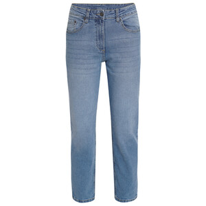 Damen Mom-Jeans mit Used-Waschung