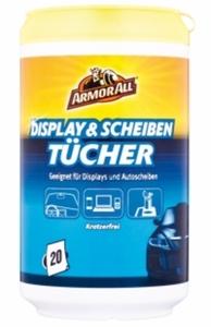 Armor All Display und Scheibentücher 20 Stück