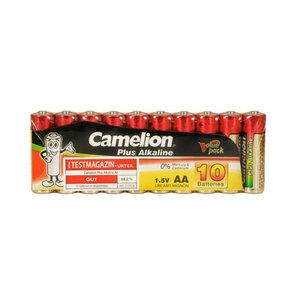 Camelion Plus Alkaline Mignon Batterien AA LR6 AM3, 1,5 V, 10 Stück