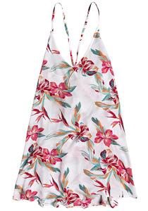 Roxy Printed Beach In Love - Kleid für Damen - Weiß
