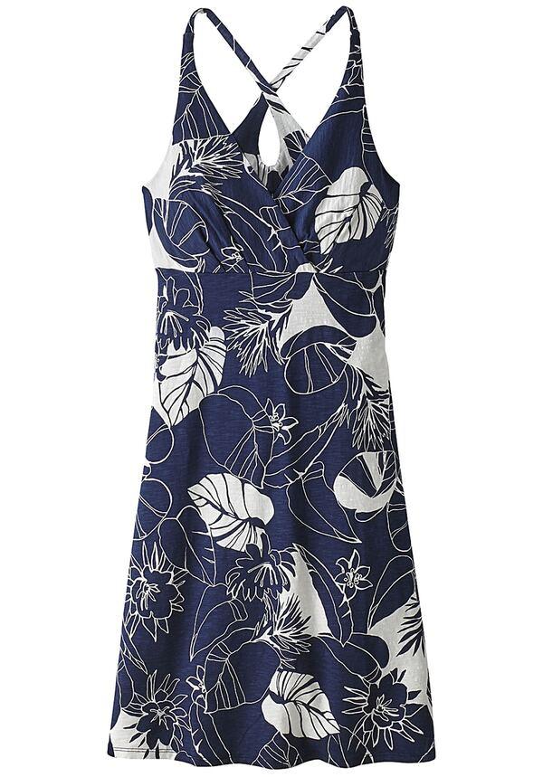Patagonia Amber Dawn - Kleid für Damen - Blau von Planet ...
