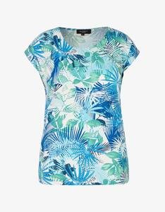 Bexleys woman - Shirt mit Blätterdruck