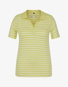Bexleys woman - gestreiftes kurzarm Poloshirt aus Organic Cotton