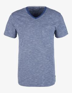 s.Oliver - Shirt mit Flammgarn-Struktur
