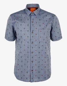 s.Oliver - Hemd mit Minimal-Muster