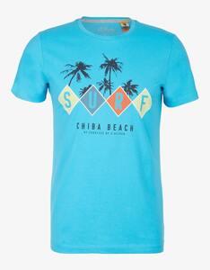 s.Oliver - bedrucktes T-Shirt