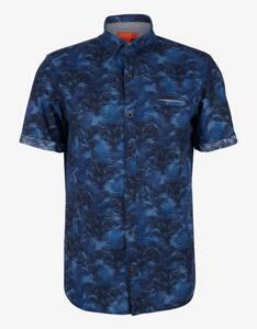 s.Oliver - Freizeithemd mit Blumenprint