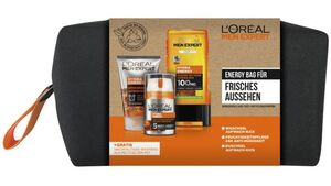 L'ORÉAL PARIS MEN EXPERT Energy  Bag für frisches Aussehen