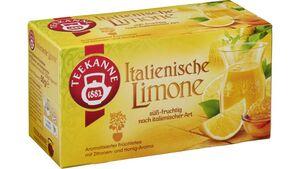Teekanne Italienische Limone Tee