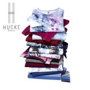 Damen-Shirt 95 % Pima-Baumwolle, 5 % Elasthan, versch. Farben und Modelle, Größe: 36 - 46, je