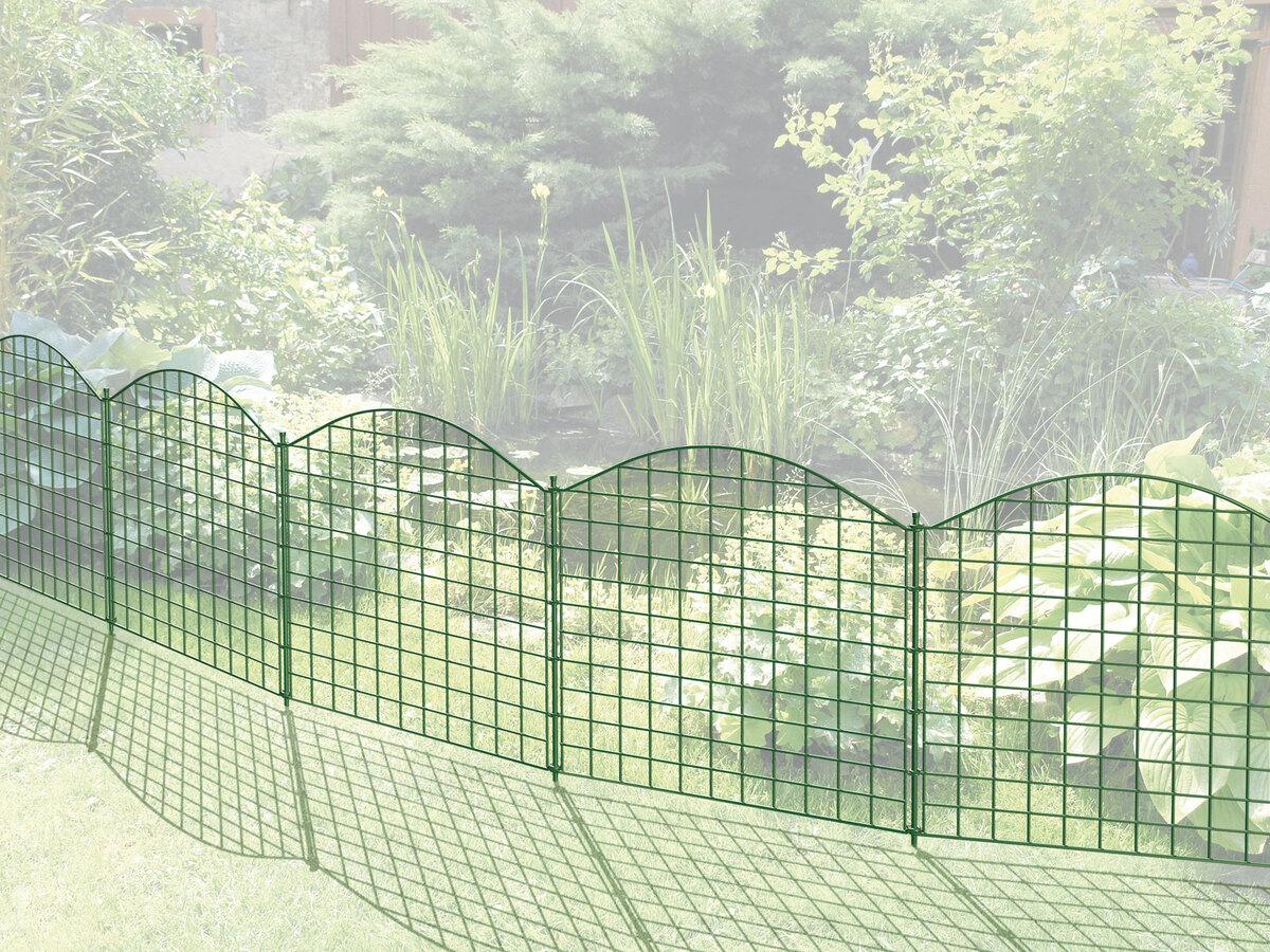 Bild 3 von Powertec Garden Teichzaun Oberbogen, Dunkelgrün
