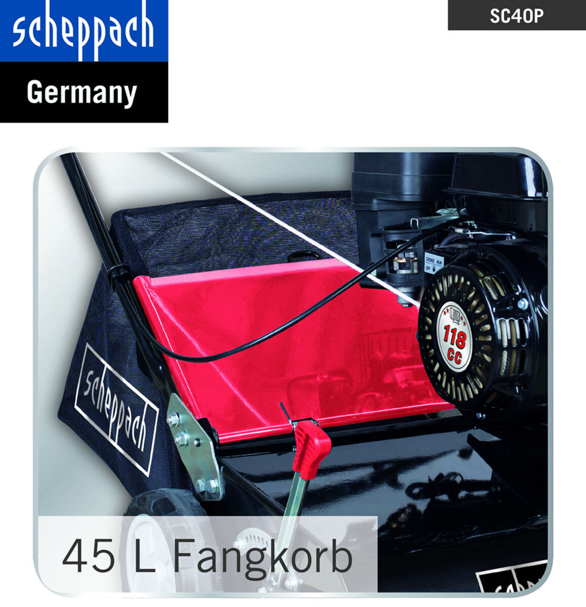 Bild 4 von Scheppach SC40P Benzin-Vertikutierer