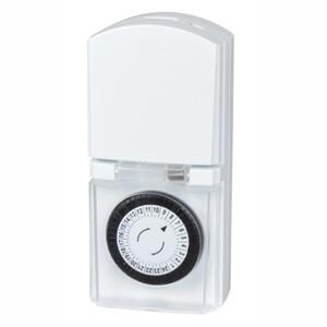 Tages-Zeitschaltuhr außen 24h Kindersicherung mechanisch