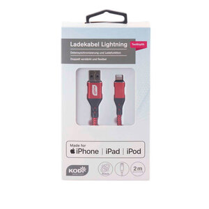 KODi Selection Ladekabel Lightning Nylon