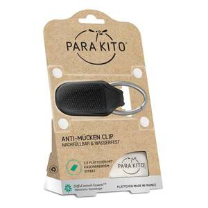 ParaKito Anti-Mücken Clip, schwarz