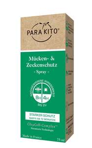 ParaKito Mücken- & Zeckenschutz Spray starker Schutz