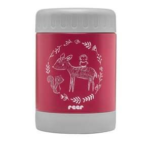 reer ColourDesign Edelstahl-Warmhaltebox, 300 ml Beerenrot