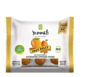 Yammbits Bio Fruit Balls aufregende Aprikose-Mango