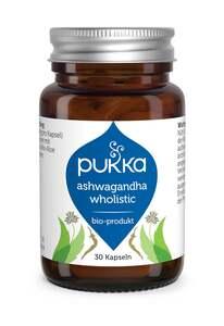 Pukka Bio-Nahrungsergänzungsmittel Ashwagandha Wholistic Kapseln