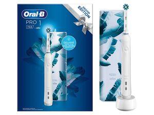 Oral-B Zahnbürste »Pro1 750«, mit Aufsteckbürste, Etui