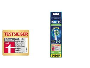 Oral-B Aufsteckbürsten »Cross Action«, 4 Stück