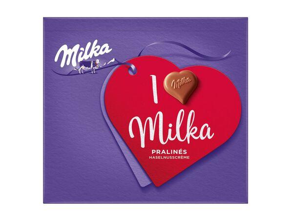 I Love Milka Pralinés