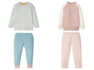 LUPILU® Kleinkinder Pyjama Mädchen, in Frottee-Qualität