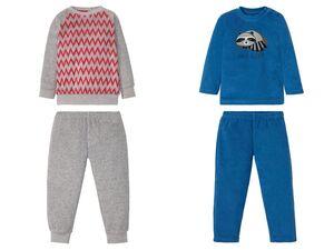 LUPILU® Kleinkinder Pyjama Jungen, in Frottee-Qualität