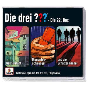 """3er-CD-Box """"Die drei ???/Kids"""" oder """"Die drei !!!"""""""