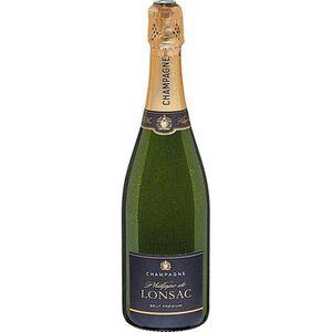 Philippe de Lonsac Champagner 12,0 % vol 0,75 Liter