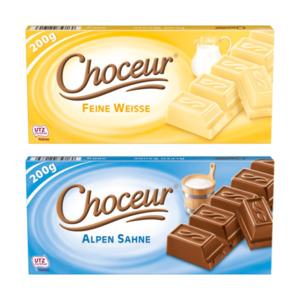 CHOCEUR     Sahne- / Weiße Schokolade
