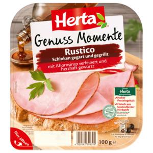 Herta Rustico Schinken gegart und gegrillt 100g