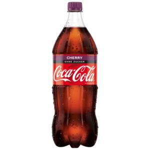 Coca Cola Cherry ohne Zucker 1,5l