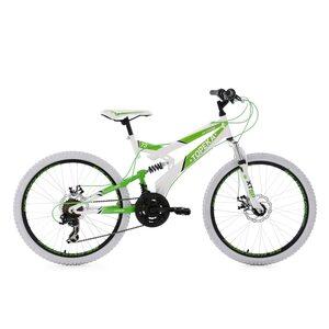 KS Cycling Jugendfahrrad Mountainbike Fully Topeka 21 Gänge, 24 Zoll für Jungen